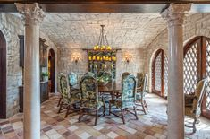 This Mediterranean/European inspired waterfront mansion is located at 125 18th Street inBelleair Beach, FL. Built in 2009, the striking home features 2 gated entrances and sits on close to an acre of land. It boasts