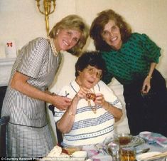 Jean Kennedy Smith, Rosie, and Eunice Kennedy Shriver. Rosie loved being the center of attention