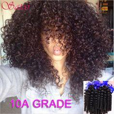 Malaysian Curly Hair 3 Bundles Kinky Curly Virgin Hair Malaysian Virgin Hair 10A Unprocessed Afro Kinky Curly Weave Human Hair http://jadeshair.com/malaysian-curly-hair-3-bundles-kinky-curly-virgin-hair-malaysian-virgin-hair-10a-unprocessed-afro-kinky-curly-weave-human-hair/ #HairWeaving