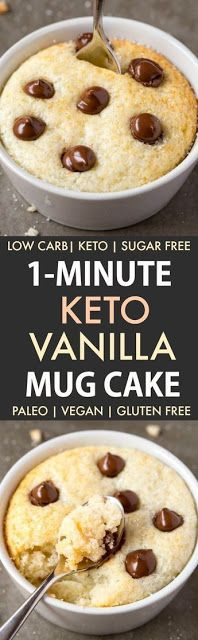 A super fluffy and moist vanilla mug cake which packs a protein punch and is low carb- It's also ready […]