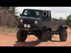 The Jeep Mighty Forward Control Concept Storms Moab on the latest episode of The Downshift.