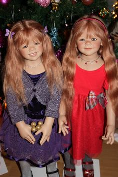 Химочки под елочкой! Часть вторая. С Рождеством! / Коллекционные куклы Annette Himstedt / Бэйбики. Куклы фото. Одежда для кукол