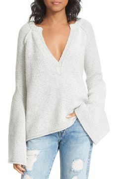 Lovely Lines Bell Sleeve Sweater