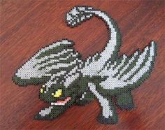 perler toothless - Google Search
