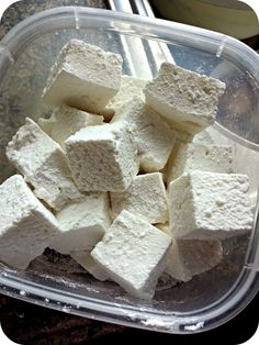 Diary of a Stay at Home Mom: Super Easy Homemade Marshmallow Recipe { No Corn Syrup }