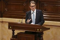 "President Mas: ""Catalonia has not grown tired of Spain; it has grown tired of the Spanish State."" - gencat.cat, 16-09-2014. In the opening speech of the General Policy Debate, the head of the Catalan executive emphasized that the Government's ""commitment to holding the referendum is very firm"" and that ""voting on November 9 must occur with full democratic guarantees"". Artur Mas underlined the importance of the unified action of political forces in Catalonia in favor of the right to vote."