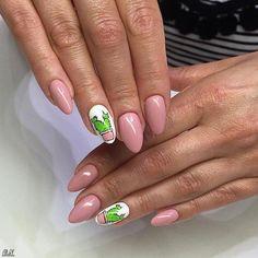 summer to fall nails #funsummernails