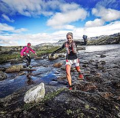 Don't stop!  #Photo : @komelau  What an amazing day at #hardangervidda #marathon . #xtremeidfjord #sky  Welcome to #RunnerLand  Lets follow us & tag #RunnerLand in your photos for featured