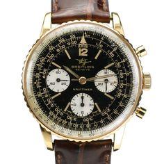 Vintage 1960s Breitling - Navitimer 18k Chronograph