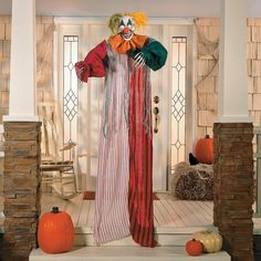 LED Hanging Clown - OrientalTrading.com