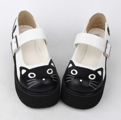Pin on Lolita Footwear Kawaii Shoes, Kawaii Clothes, Kawaii Fashion, Lolita Fashion, Caterpillar Boots, Estilo Lolita, Lolita Shoes, Cat Shoes, Pretty Shoes