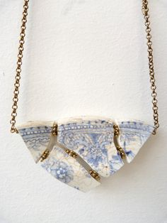 Boodi Blu Jewellery  Handcrafted, one off pieces of upcycled ceramic jewellery.  www.boodiblu.com