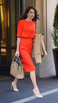 7925042a Amal Clooney Amal Clooney, George Clooney, Star Fashion, Work Fashion,  Womens Fashion