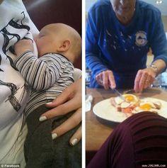 Mẹ trẻ đang cho con bú choáng với hành động của cụ bà   Câu chuyện về lòng tốt của một cụ bà với bà mẹ đang cho con bú đang lan truyền nhanh chóng trên mạng xã hội khiến nhiều người cảm động.  Bà mẹ trẻ Briar Lusia McQueen đã vô cùng bất ngờ trước hành động cắt thức ăn cho mình của một cụ bà.  Câu chuyện được bà mẹ 22 tuổi Briar Lusia McQueen sinh sống tại Mount Maunganui New Zealand kể lại trên trang facebook cá nhân và ngay sau đó đã nhận được lượng like share rất lớn thậm chí còn được rất…