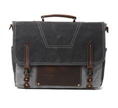 Canvas Messenger Bag (7)