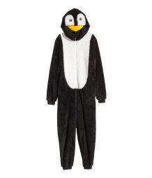 Pile Penguin Suit | Black/penguin | Women | H&M US