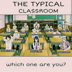 Anime, classroom, and badass: the typical classroom bookworm badboy latecomer the badass transferee Funny Minion Memes, Funny School Jokes, Very Funny Jokes, Crazy Funny Memes, Really Funny Memes, School Memes, Funny Relatable Memes, Funny Facts, Funny Quotes