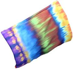 Womens Wrist Wallet Tie Dye Stripes Wristband