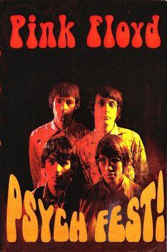 PINK FLOYD POSTER - vintage, retro, classic rock