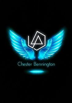 Credit to the Owner. Wonderful Tribute!  Beautiful Chester Bennington ❤ #makechesterproud