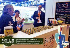 ¿ Sabías qué ayer se hizo una degustación de morcillas de burgos con alcachofas de Caprichos del Paladar en  el stand de la Diputación de Burgos en Salón de Gourmets en Madrid?