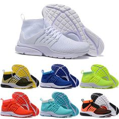 2016 New Presto Running Shoes Men Women Air Sneakers High Quality Original Discount White High Cut Sports Shoes Size 5.5-11