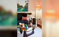 Sala de Estar   Property Brothers - Buying & Selling - Season 3 - Julie e Rob