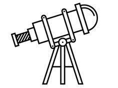Dibujos De Telescopios Faciles Busqueda De Google En 2020 Telescopio Dibujo Telescopio Telescopios