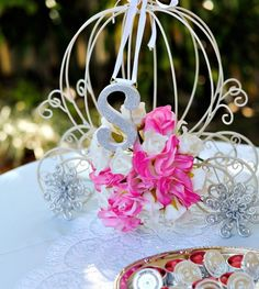 Cinderella Wedding Centerpiece Ideas   Lakeside Wedding Ideas Wedding  Centerpieces Teal Blue Lacey Wedding .