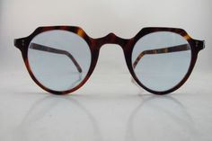 Vintage 1940s tortoise shell glasses. Hand made in England.