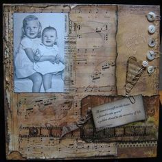 Altered Canvas Class from Green Door Studio for $25 on Square Market