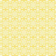 We houden van Kitchen Walls, dat leuke behang voor op de achterwand van de keuken. Wat dacht je van dit heerlijk patroontje met een vintage feel in zonnig geel, als je daar niet vrolijk van wordt! Price €125,00