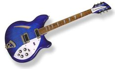 Rickenbacker 360 - my favorite guitar of all time - enlisted by Peter Buck (R.E.M.), George Harrison and Johnny Marr (The Smiths) - it was all about the instrument's bright, jangly sounding pickups