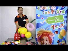 ▶ Como Fazer Flor de Balão (Magazine 25) - YouTube #tutorial #comofazer #passoapasso #dica #festa #decoracao #floresdebaloes #flordebalao