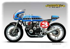 YAMAHA XJ 600 CONTINENTAL CIRCUS Cafe Racer by obiboi on DeviantArt