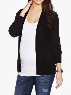 Boxy Combed Maternity Cardigan #ThymeBabyShower Nursing Wear, Stylish Maternity, Blazer, Mom, Sweaters, Jackets, How To Wear, Clothes, Shopping