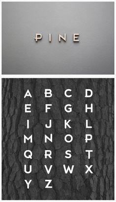 PINE - Font