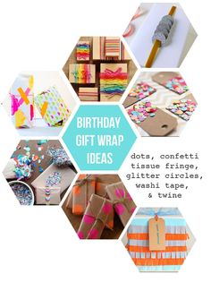 I Heart Rosemary Watson: A journal from 2012-2013: How To Wrap An Awesome Present {and a Free Tag pri...