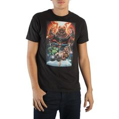 Deathstroke Justice League Unisex Official Black Licensed T-Shirt