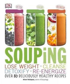 A full-color cookbook with more than 100 healthy hot and cold soup recipes and cleanses for losing weight, detoxification, and revitalized health. Souping is the new juicing! Packed with delicious and
