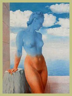 René Magritte - - - La magie noire / (021/001). Belgian art, surrealism