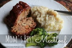 Mom's Best Meatloaf recipe - my kids beg me to cook this! #easyrecipe