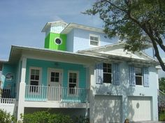 Key West - tropical - exterior - M.A. Corson & Assoc., Inc.