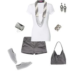 Grayscale, created by misslisa5472 on Polyvore