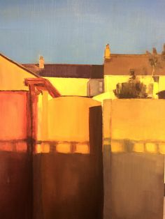 Truro College - Megan P - Evening Light 1 - Oil on Board. Truro College, Board Exam, Class Of 2018, A Level Art, Fair Grounds, Oil, Painting, Travel, Viajes