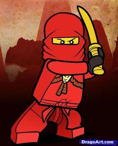 Ninjago: Mini Kit para Imprimir Gratis.