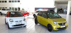 El concesionario de Smart y Mercedes-Benz en Leganés y Móstoles, expuso en sus instalaciones de la Ciudad del Automóvil los nuevos Smart Fortwo y Forfour, que estarán a la venta el próximo noviembre desde 11.800 euros.