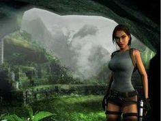 Lara Croft Animation with Sound - YouTube