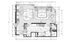 5 star hotel room plan - Google Search