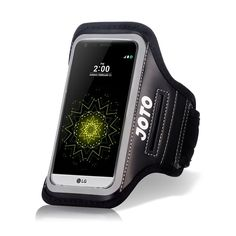LG G5 Armband Case, JOTO Sport Exercise Armband for 2016 LG G5, with Key Holder, Credit Card Money Holder, Sweat Proof, Best for Gym Fitness Walking Jogging Workout G5 running arm belt (Black). Compatible with LG G5 (2016). Features: Built in key holder, ID/Credit Card/Cash Holder and earphone jack openings. Quality Materials: Made from premium lightweight neoprene; sweat proof, durable and protects your device all around. Full Touchscreen Compatibility: Clear protective screen window…